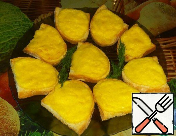 Hot Cheese Sandwiches Recipe