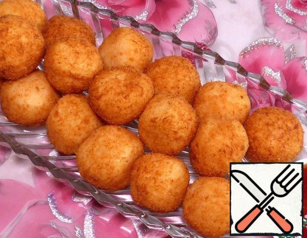 Potato Balls with Cheese Recipe