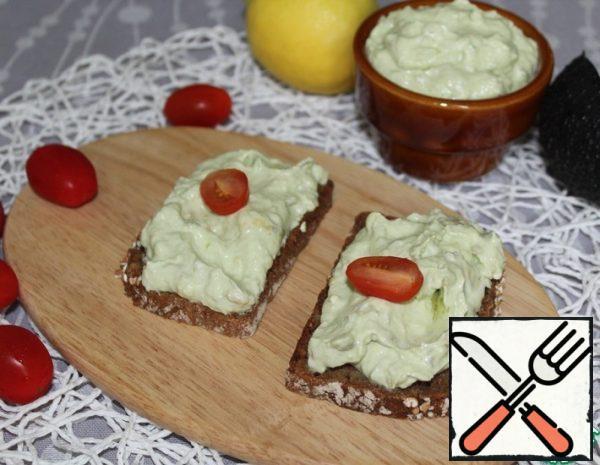 A Creamy Sauce of Avocado Recipe