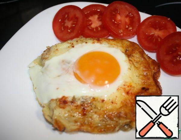 Hot Cheese and Egg Sandwich Recipe