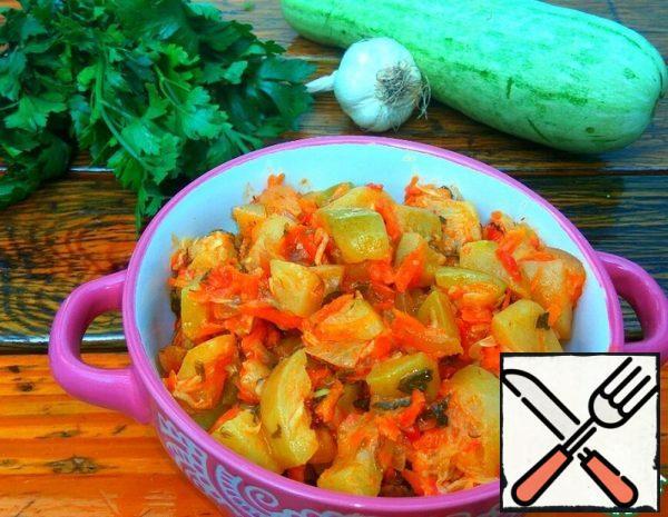 Stewed Zucchini Recipe