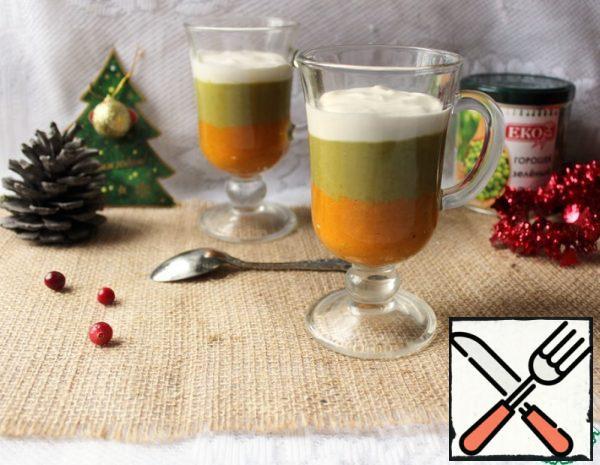 Appetizer-Pea and Pumpkin Mousse Recipe