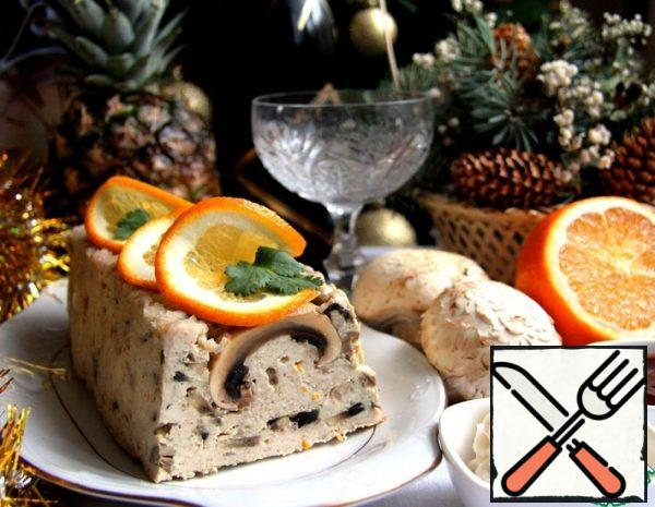 Terrine of Chicken with Mushrooms Recipe
