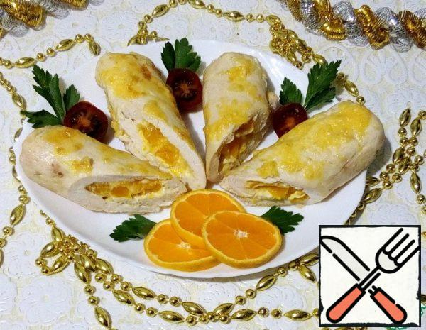Roulade of Chicken with Tangerines Recipe