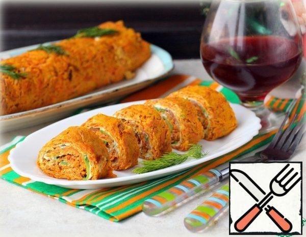 Carrot Snack Roll Recipe