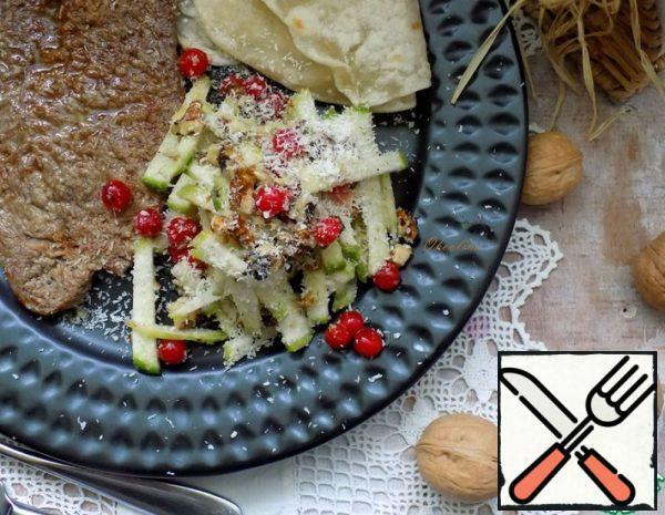 Green Radish Salad with Meat Recipe