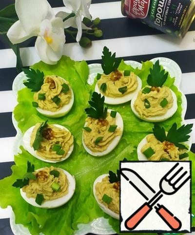 Garnish with herbs and French mustard!