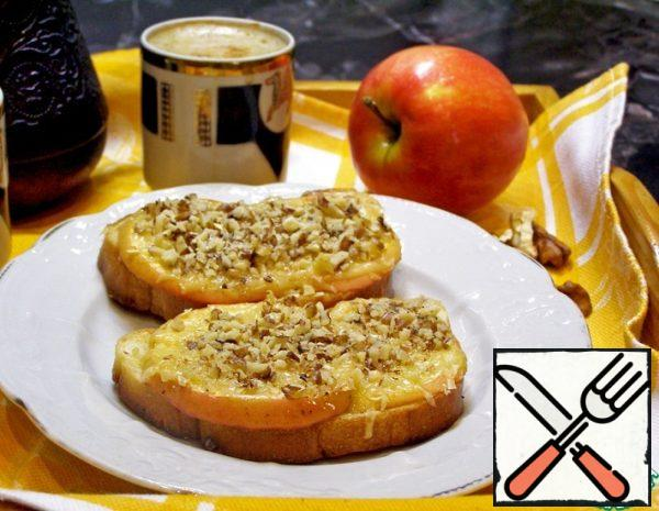 Hot Sandwiches with Apple Recipe