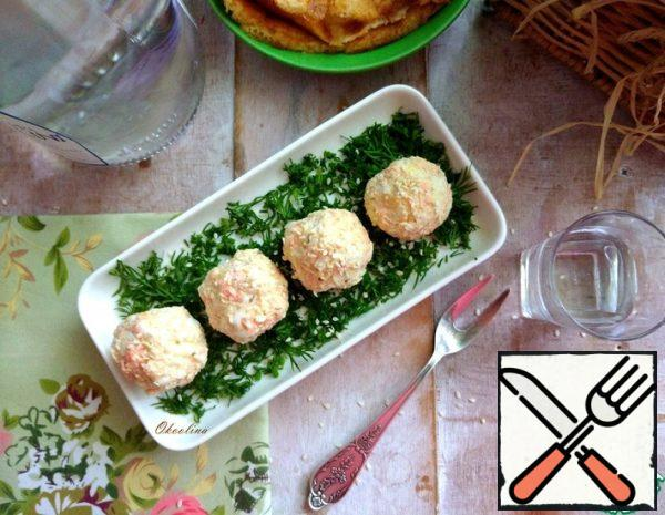Snack Carrot Balls with Cottage Cheese Recipe