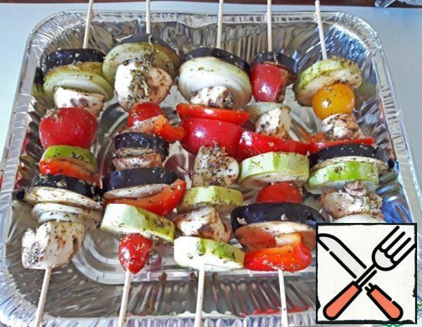 Vegetables with Mushrooms Recipe