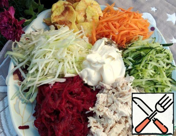 Salad with Turkey Recipe