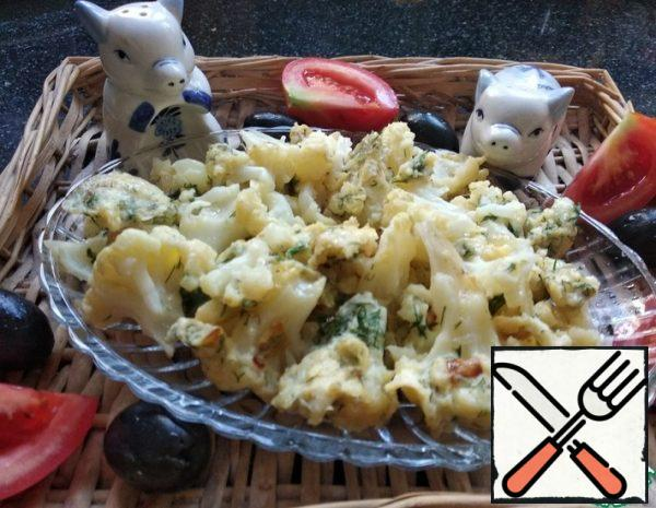 Cauliflower with Eggs and Herbs Recipe
