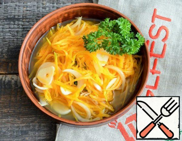 Pickled Pumpkin with Onion Recipe