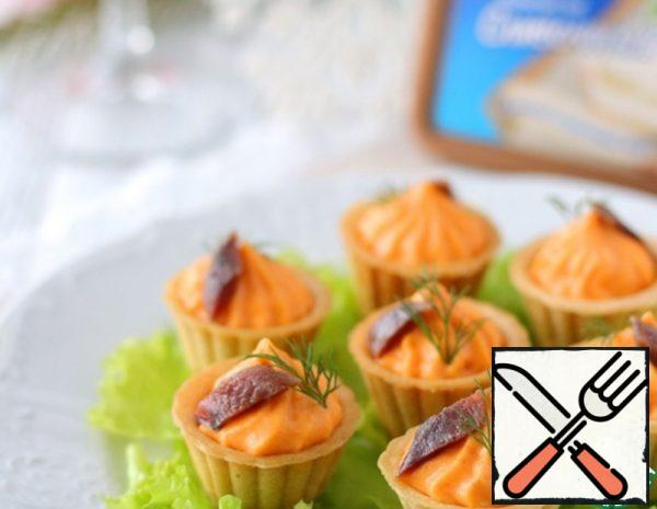 Appetizer with Cream Cheese and Anchovies Recipe