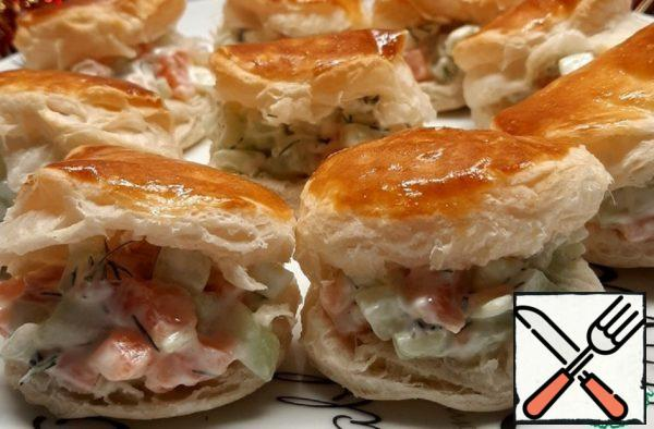 A Quick Appetizer of Puff Pastry Recipe