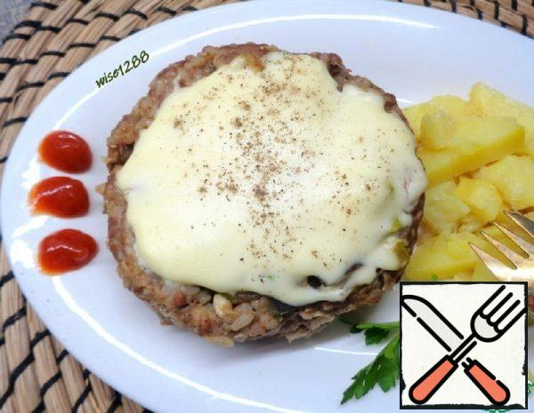 Meat Biscuit with Vegetables Recipe