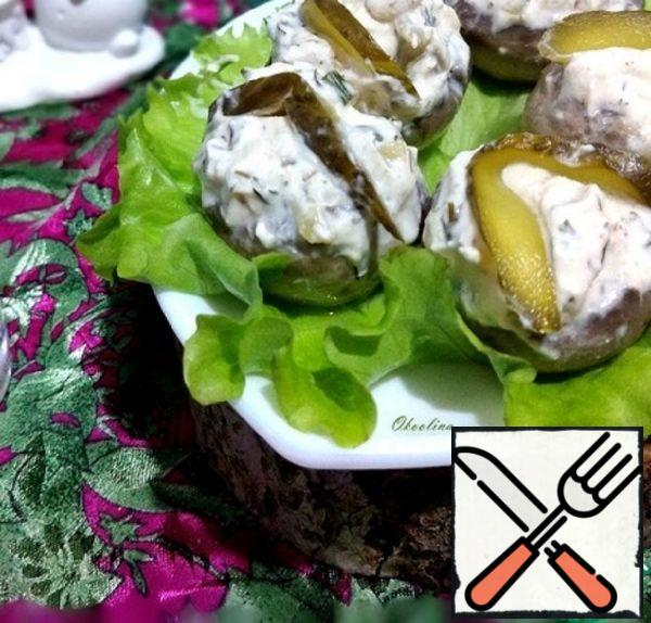 Spicy Mushroom Appetizer Recipe