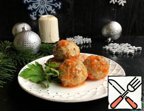Mini Meatballs with Olives Recipe