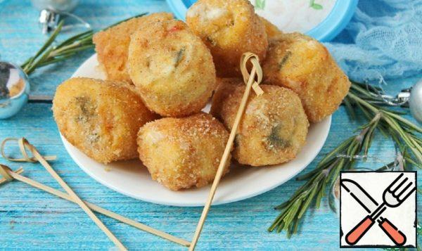 """Snack """"Fried Rolls"""" Recipe"""
