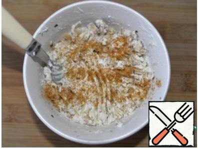 Add salt and pepper mixture to taste. Mix well.