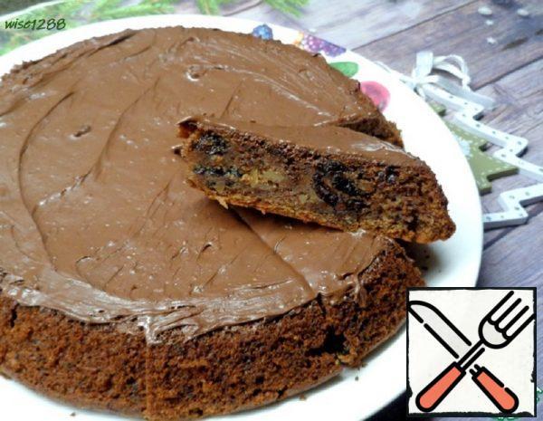 Chocolate Fruit and Nut Cupcake Recipe