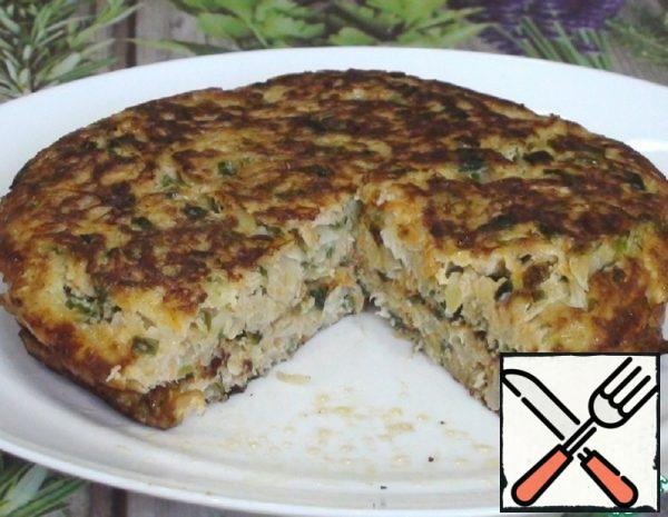 Cabbage Tortilla without Flour Recipe