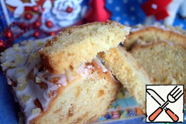 Lemon Cake with Icing Recipe
