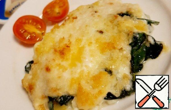 Spinach and Egg Casserole Recipe