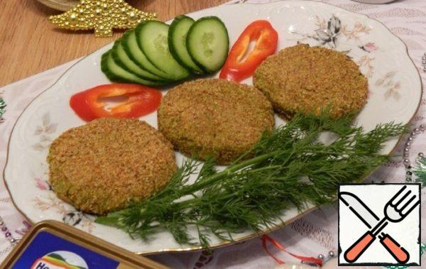 Cutlets from Broccoli in  Oven Recipe
