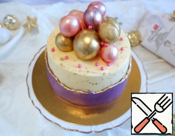 "Cake ""Strawberry Tenderness"" Recipe"