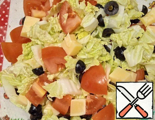 Cheese Salad Recipe
