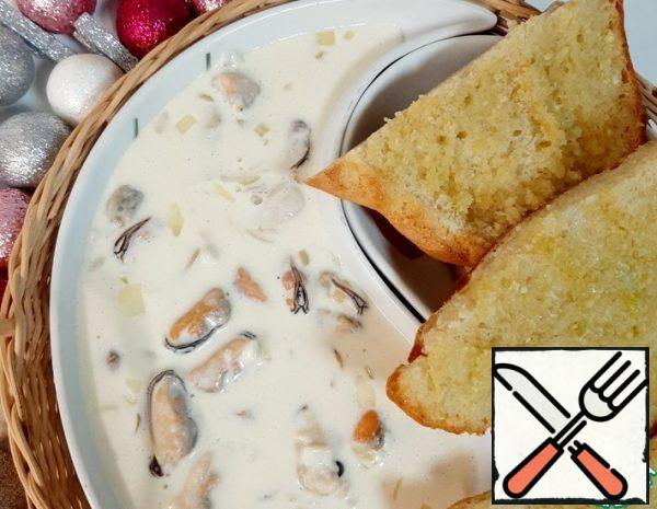 Mussels in Cream Sauce Recipe