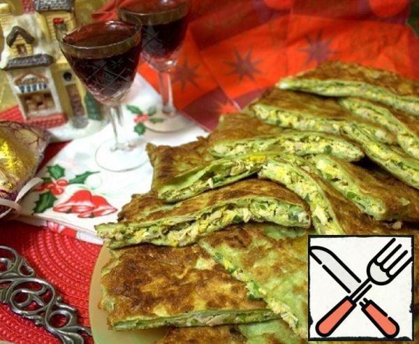 Pita Bread Snacks with Chicken Recipe