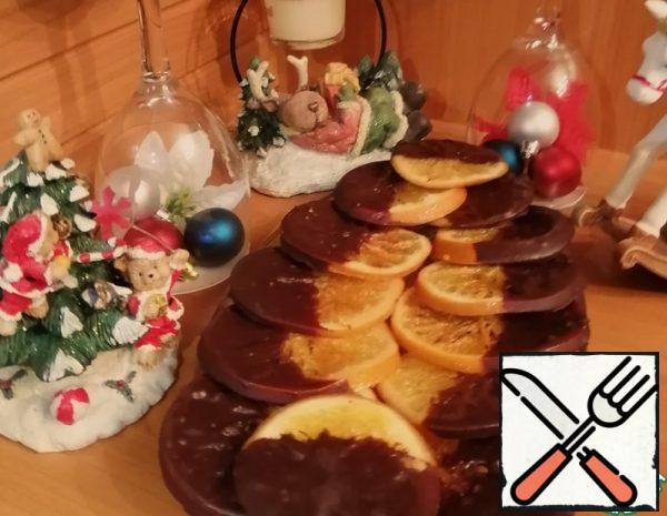 Caramelized Oranges in Chocolate Recipe