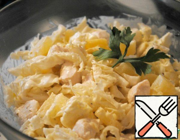 Salad with Chicken Recipe