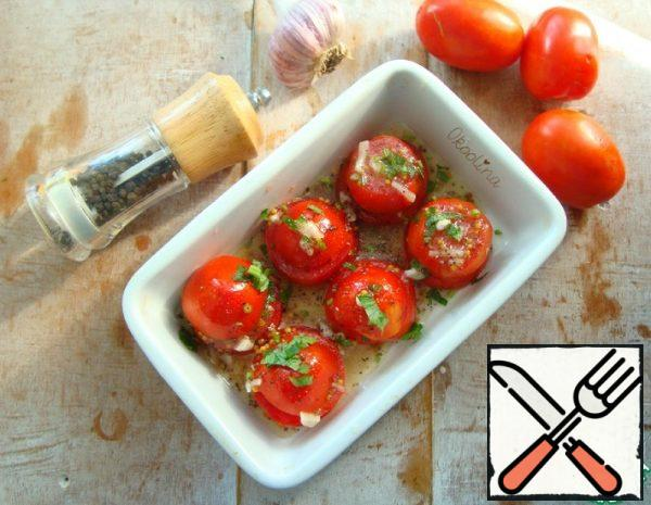 Quick, lightly salted Tomatoes Recipe