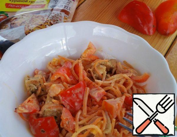 Salad with Chicken Fillet Recipe