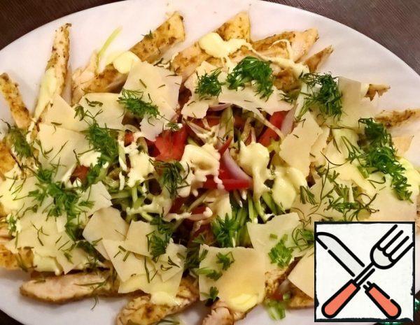 Light Salad with Chicken Recipe