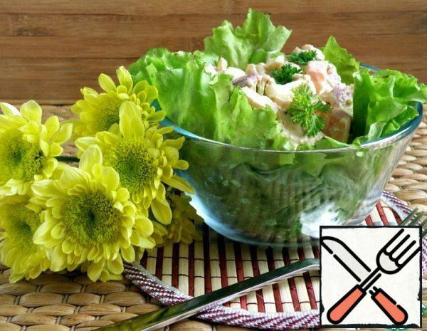 Salad with Chicken and Cauliflower Recipe