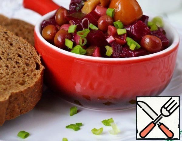 Beetroot Salad with Mushrooms Recipe