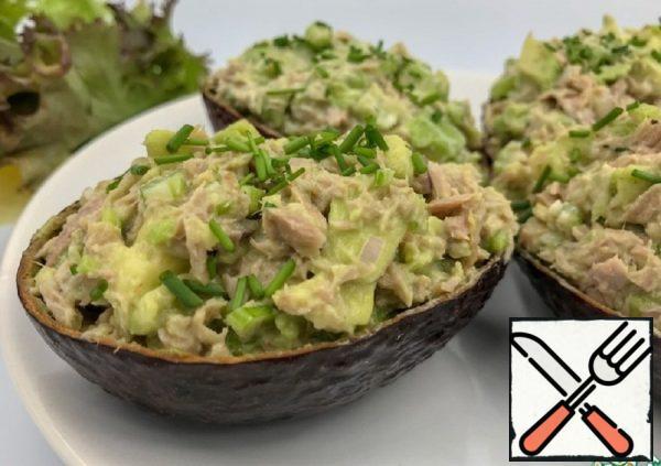 Tuna and Avocado Salad Recipe