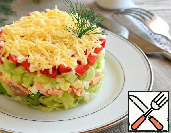 Salad with Fish and Vegetables Recipe