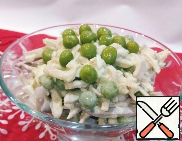 Squid Salad with Apple Recipe