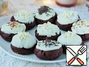 Decorate with pastry sprinkles on top, place on a plate or wire rack and let the chocolate harden.