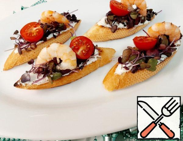 Bruschetta with Shrimp Recipe