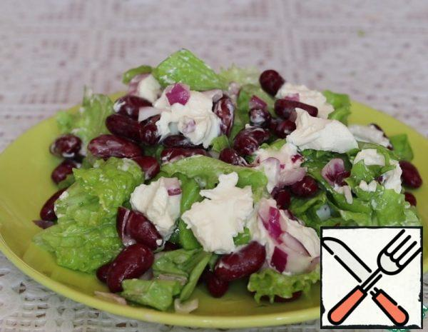 Red Bean and Curd Cheese Salad Recipe