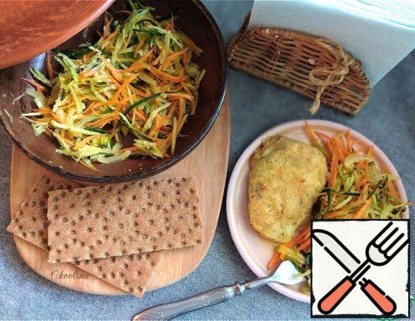 Salad with Green Radish Recipe