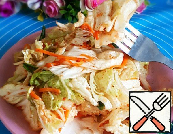 The Chinese Cabbage Salad Recipe