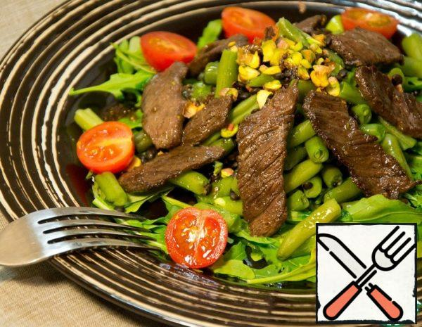 Warm Salad with Beef Recipe