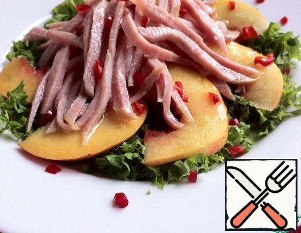 Salad with Ham and Nectarines Recipe